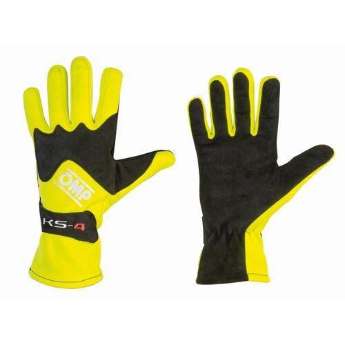 Rękawice OMP KS-4 żółte