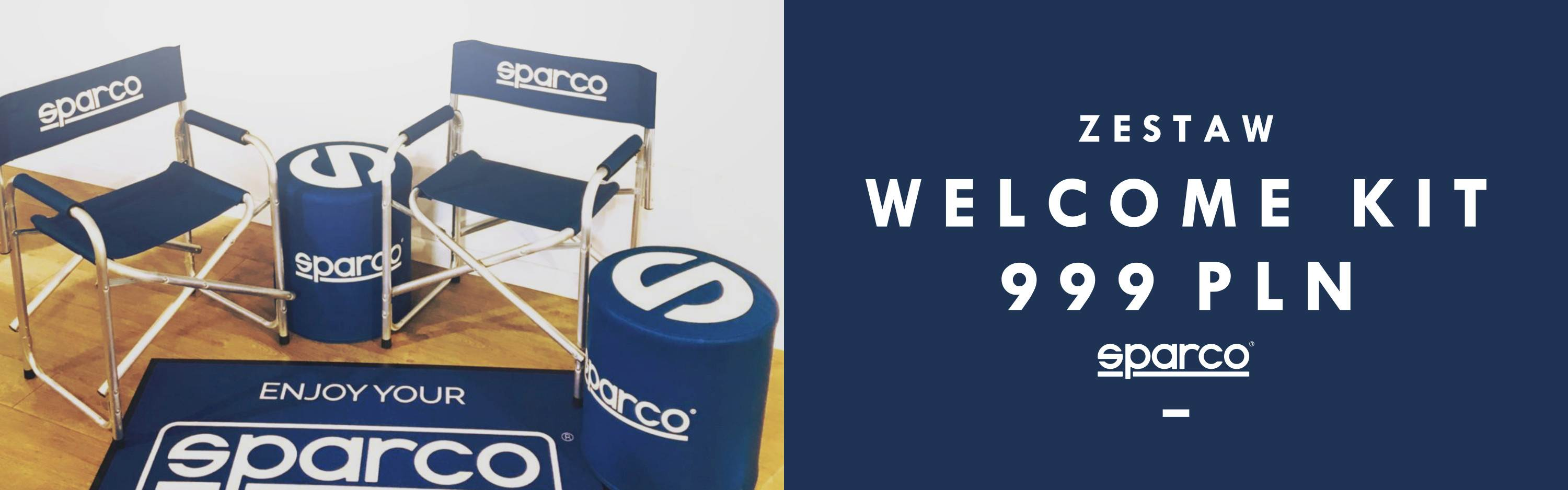 Zestaw Sparco Welcome Kit